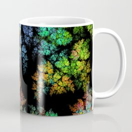 Leaves - fractal art Coffee Mug