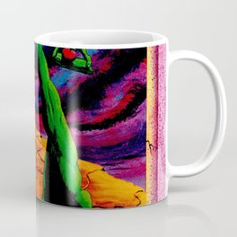 Trippy Psychedelic Surrealism by Vncent Monaco - The Balance Coffee Mug
