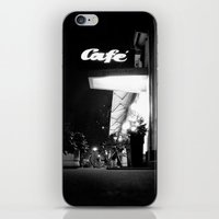 cafe iPhone & iPod Skins featuring Cafe  by Julia Aufschnaiter