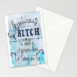High Riding Bitch Stationery Cards