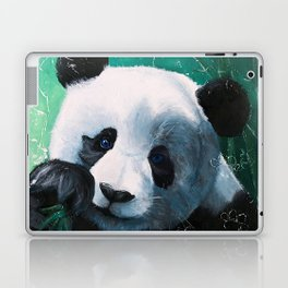 Panda - A little peckish - by LiliFlore Laptop & iPad Skin