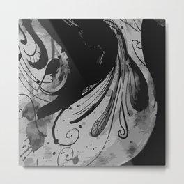 Ink II Metal Print