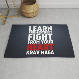 Learn from the Street Krav Maga Rug