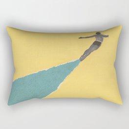Torn Around - Dive Rectangular Pillow