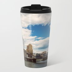 Hearts Over Pittsburgh Metal Travel Mug