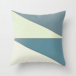 slants Throw Pillow