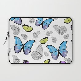 Butterfly-Waiting For Spring Laptop Sleeve