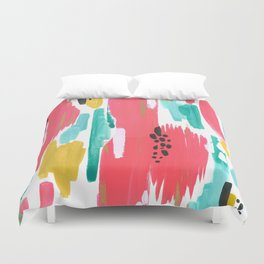 Watermelon Abstract  Duvet Cover
