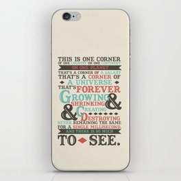 There Is So Much To See iPhone Skin