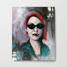 sunglasses at night Metal Print
