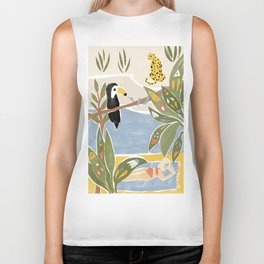 The Jungle Jumbos Biker Tank