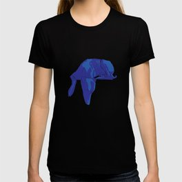 Blue/Grey hound T-shirt