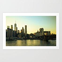 Lower East Side Art Print