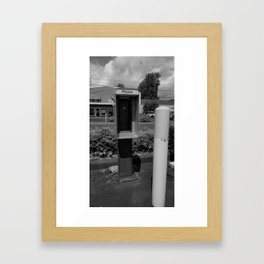 Where have all the pay phones gone? #6 Framed Art Print