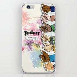 Failure is Success iPhone Skin