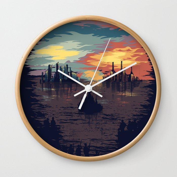 Ready for Battle Wall Clock