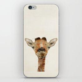 little giraffe iPhone Skin