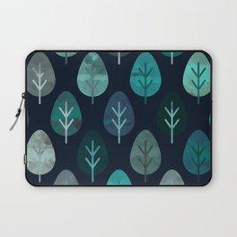 Watercolor Forest Pattern #7 Laptop Sleeve