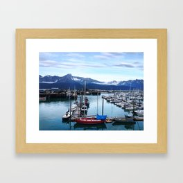 Seward, Alaska Framed Art Print