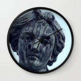 Weeping Angel Statue Wall Clock