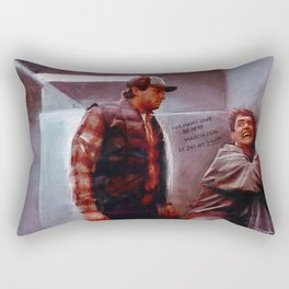Seabass And Manly Love - Dumb And Dumber Rectangular Pillow