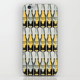 Pop art, original graphic Corona beer art illustration iPhone Skin