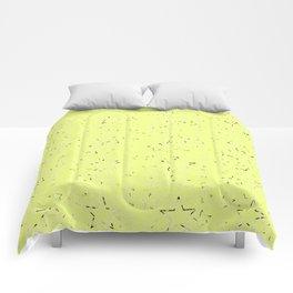 Yellow Gradient Stars Comforters