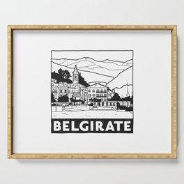 Belgirate, Lago Maggiore, Italy Serving Tray
