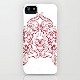 Ornate Skull iPhone Case