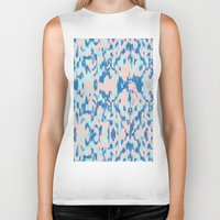watercolour Biker Tanks featuring Watercolour by requetetrend