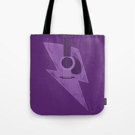 Electric - Acoustic Lightning Tote Bag