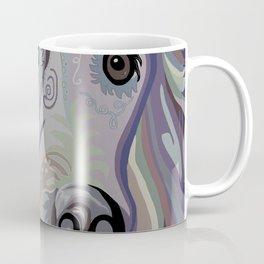 Retriever Denim Tones Coffee Mug