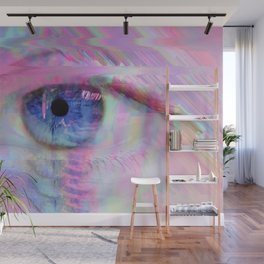 Digital Evil Eye Wall Mural