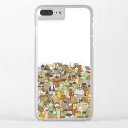 London Clear iPhone Case