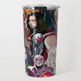 Superheroes Travel Mug