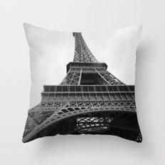 Eiffel Tower Throw Pillow