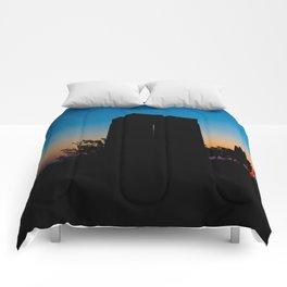 Sunset in Eceabat Comforters
