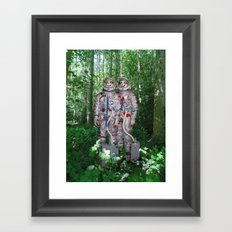 We Come in Peace - Variant Framed Art Print