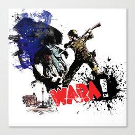 Poland Wara! Canvas Print