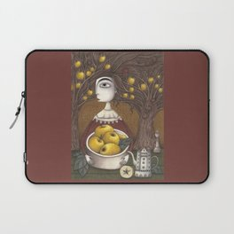 Portrait of an Apple Orchard Laptop Sleeve