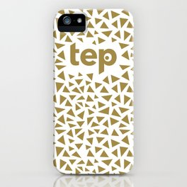 Tep Triangles iPhone Case