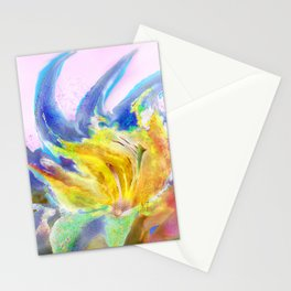 Watercolor of Bluetes Stationery Cards
