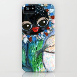 """""""Waving at you"""" iPhone Case"""
