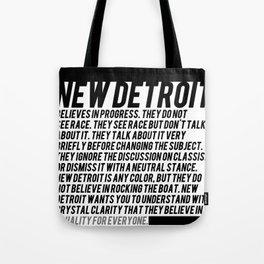 New Detroit Tote Bag