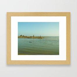 Navaro Beach VI Framed Art Print