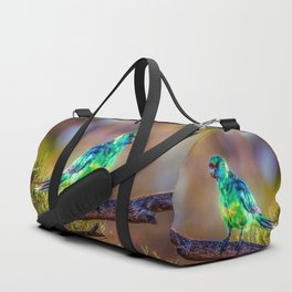 Mallee Ringneck Parrot Duffle Bag