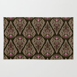 art deco pattern ornament Rug