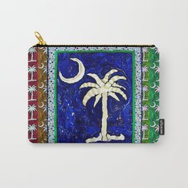 SC Palmetto State Flag Carry-All Pouch