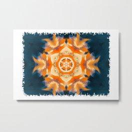 Flower of fire Metal Print