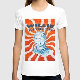 Willie For President T-shirt